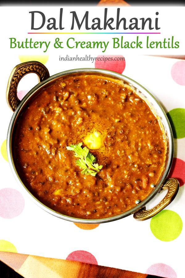 Dal makhani (Stovetop & Instant pot)