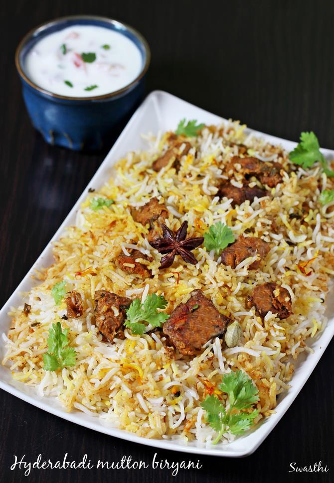 Hyderabadi Mutton Dum Biryani How To Make Mutton Dum Biryani