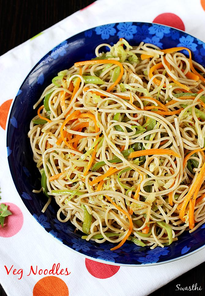 Veg noodles recipe how to make noodles recipe without sauce veg noodles recipe forumfinder Images