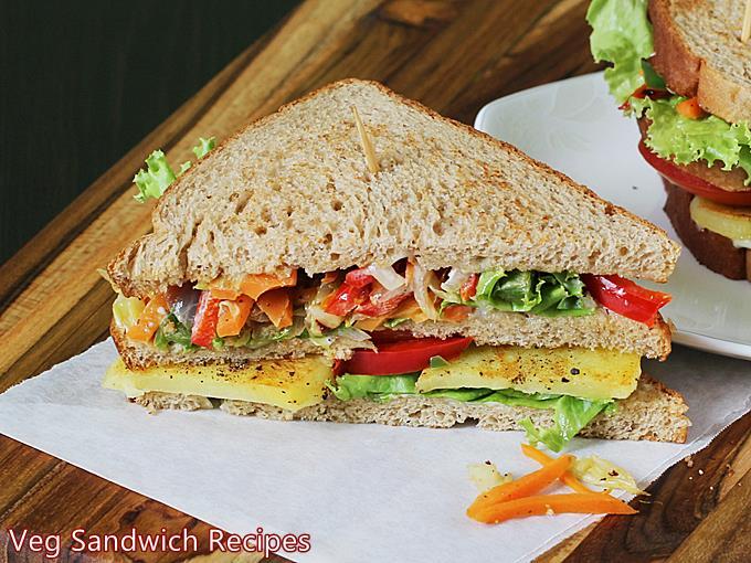 veg sandwich recipe club sandwich