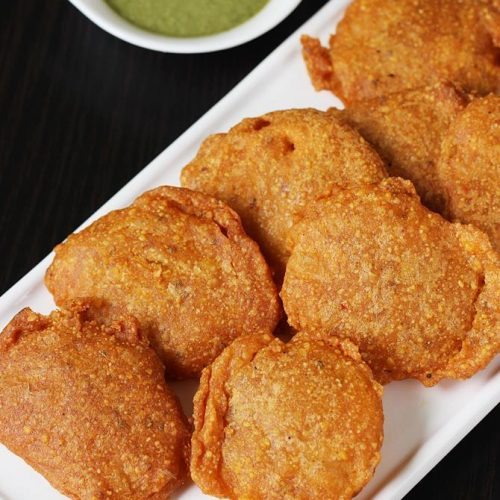Aloo pakora recipe | Aloo or potato bajji recipe