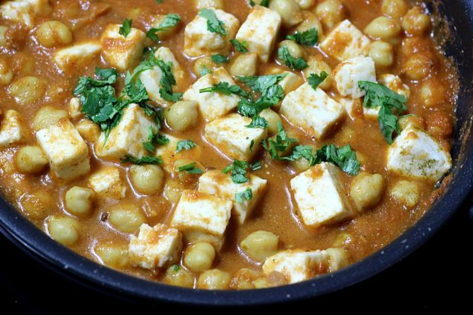addition of paneer