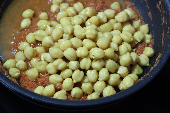 Onion tomato masala for chana paneer masala