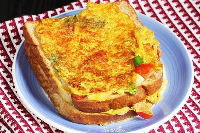Egg Bread Toast Breakfast