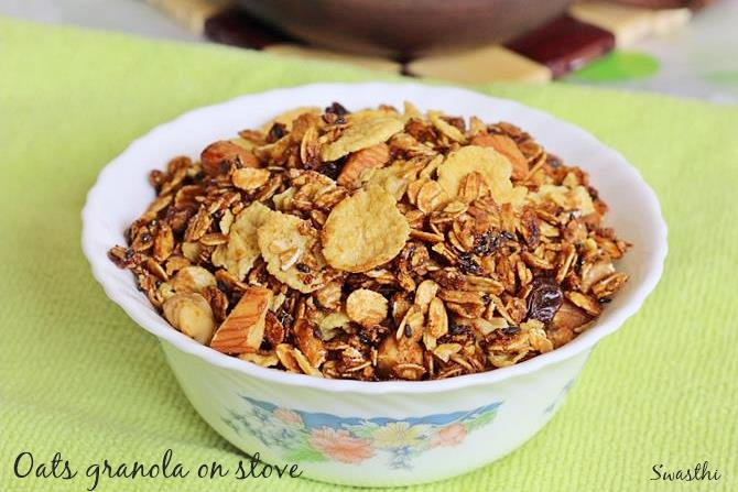homemade granola oats recipes