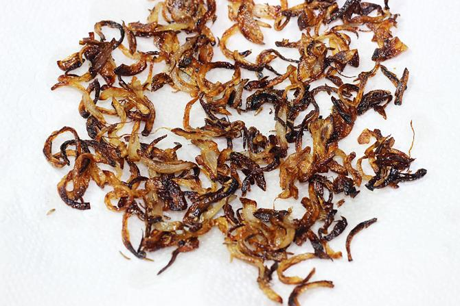fried onions for biriyani