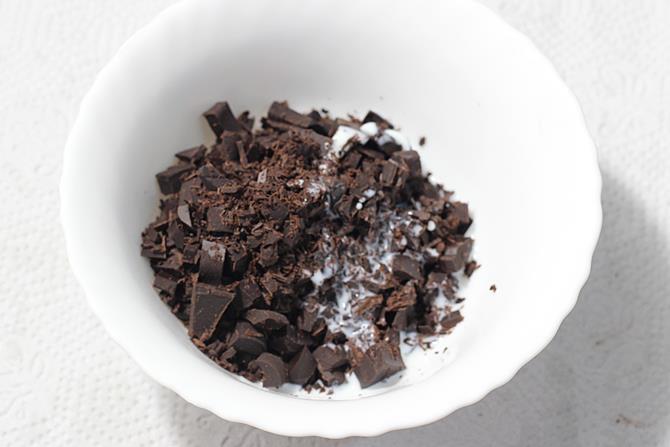 melting chocolate