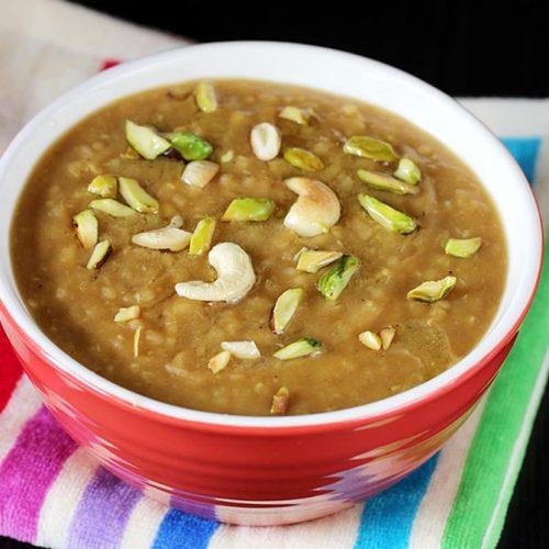 Halva recipe for kids & toddlers