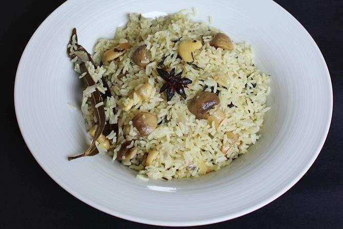 mushroom pulao recipes