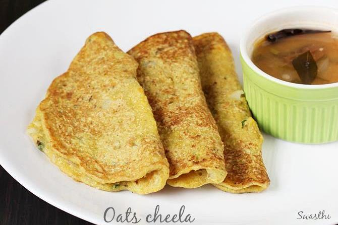 oats cheela recipes