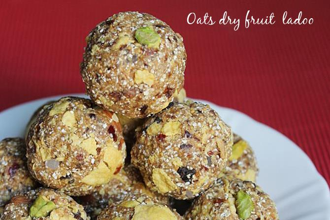 oats dry fruits ladoo recipes