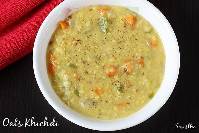 oats khichdi oats recipes