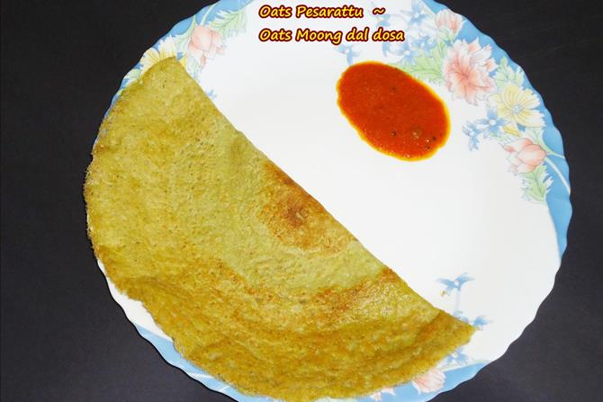 oats moong dal dosa recipes