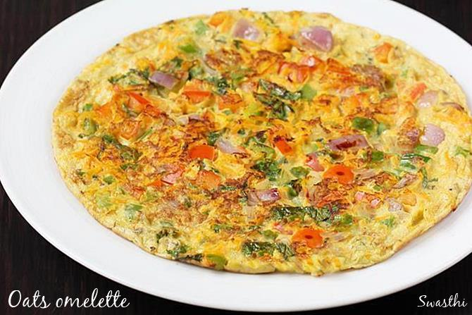 oats omelet recipes