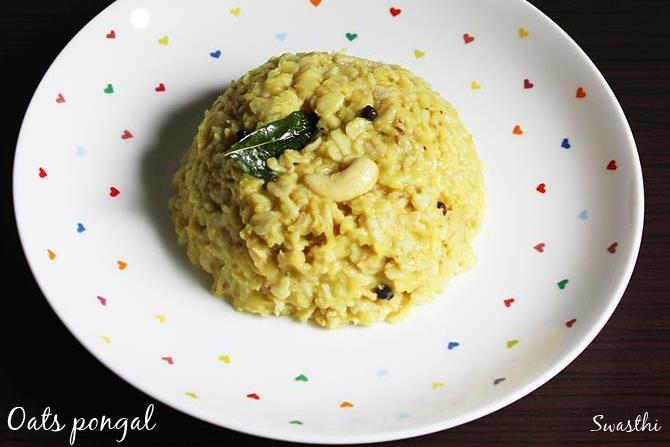 oats pongal recipes