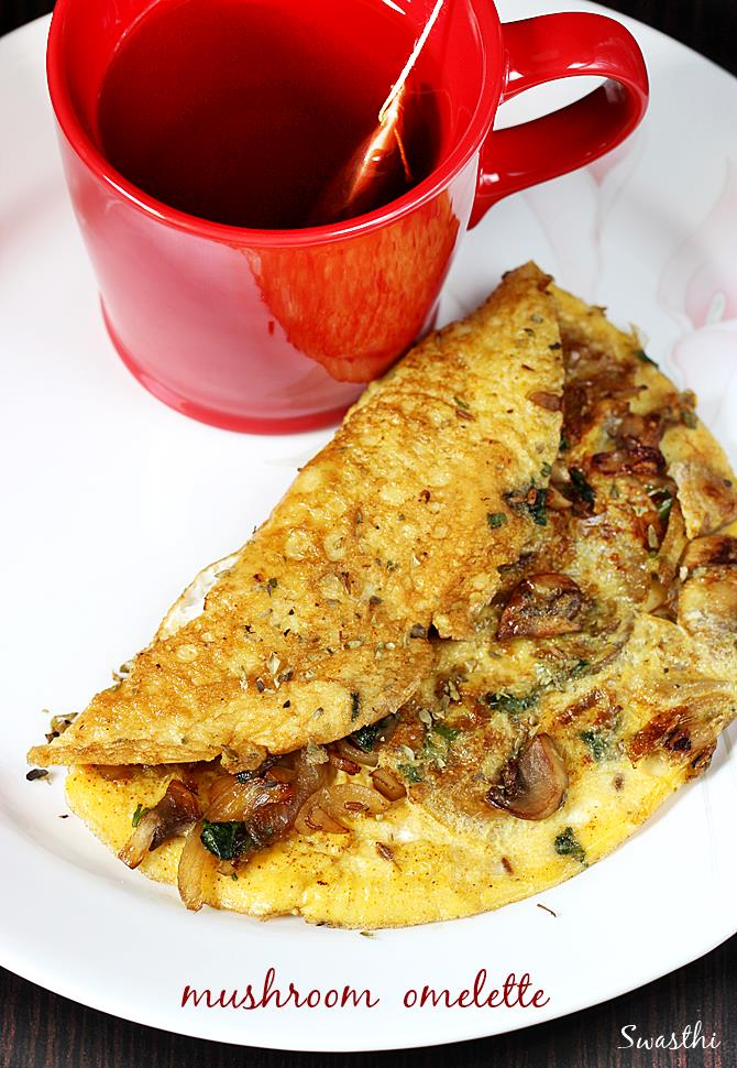 omelet recipe with mushrooms