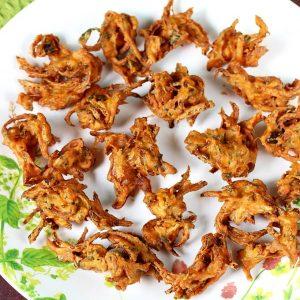 Pakora recipes | 19 pakoda recipes & bajji recipes | Indian fritters