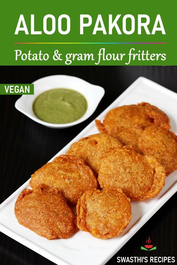 Aloo pakora recipe | Aloo or potato bajji recipe