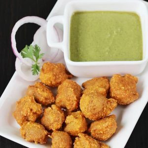 Soya pakora recipe   Meal maker pakoda using soya nuggets