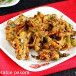 veg pakora recipe