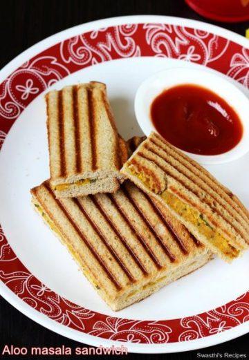Aloo sandwich recipe | Potato sandwich recipe | Aloo bread sandwich