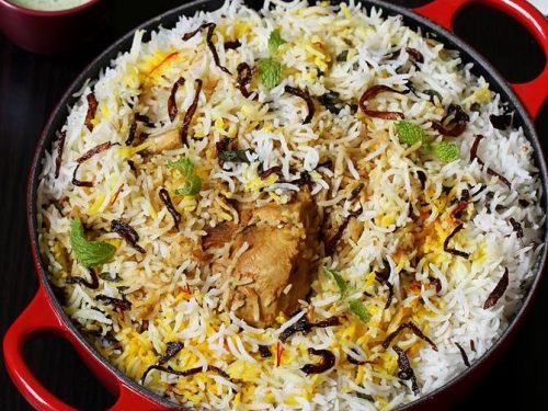 Awadhi chicken biryani recipe | Lucknowi chicken biryani