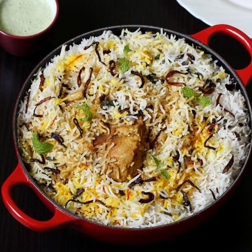 Awadhi chicken biryani recipe | Lucknowi chicken biryani