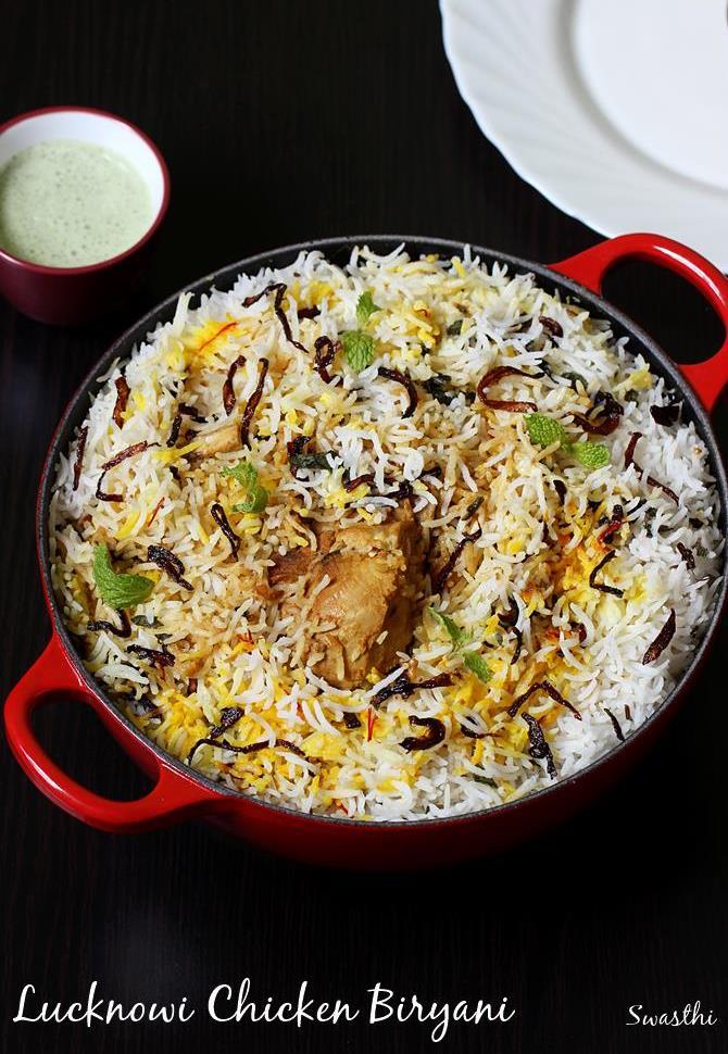 Awadhi chicken biryani recipe lucknowi chicken biryani for Awadhi cuisine vegetarian
