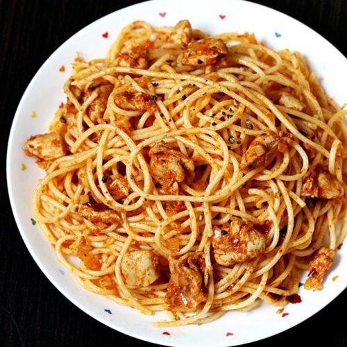 Chicken pasta | How to make chicken pasta | Chicken spaghetti