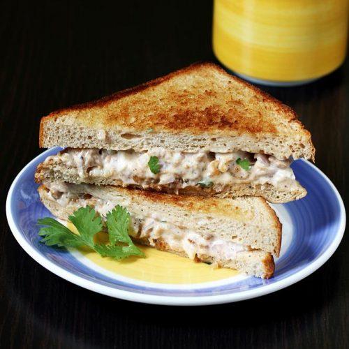 Mayo chicken sandwich recipe | Chicken sandwich with mayonnaise
