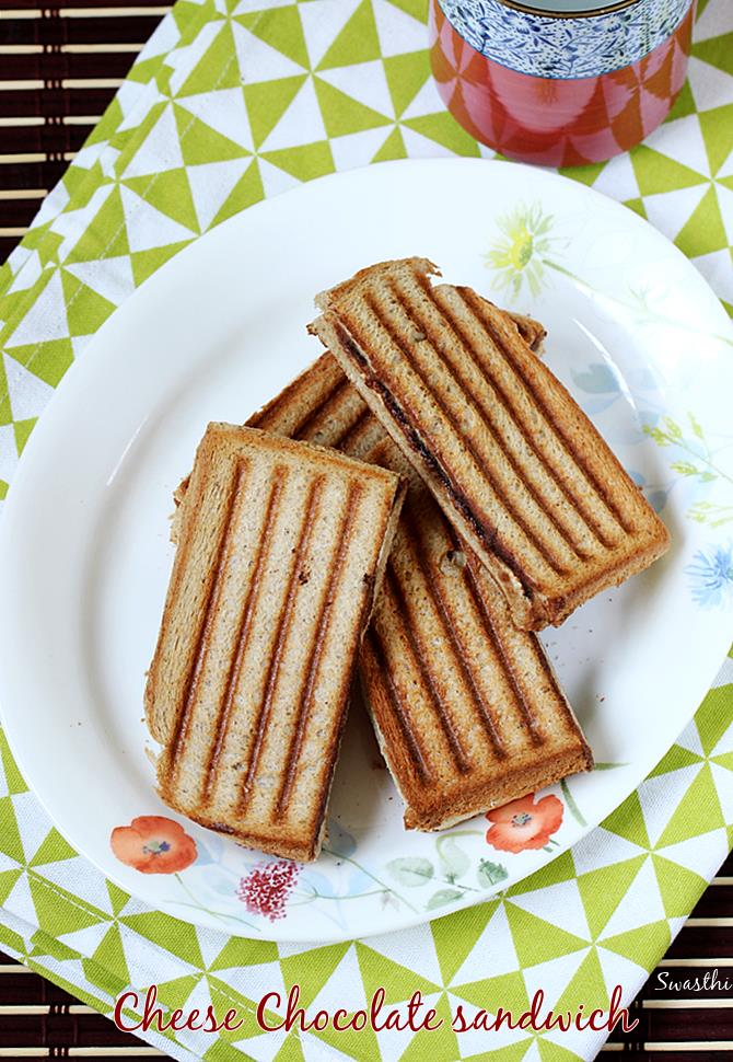 chocolate cheese sandwich recipe