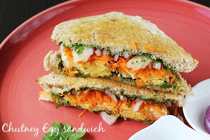 chutney egg sandwich recipe