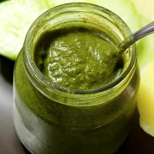 Green chutney recipe for sandwich, chaat and snacks