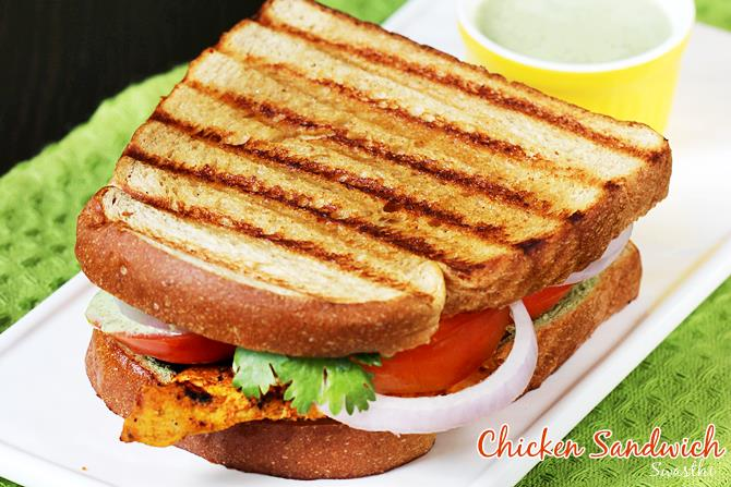 Simple grilled chicken sandwich recipe