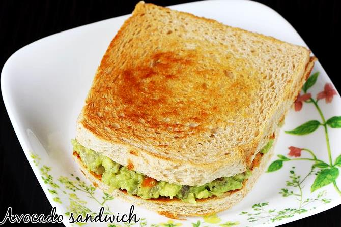 guacamole sandwich recipe