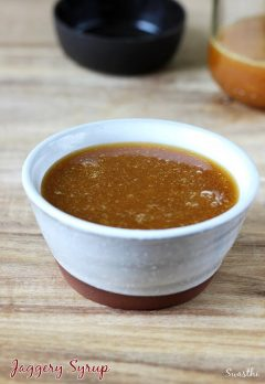 Jaggery syrup | How to make Jaggery syrup for baby food
