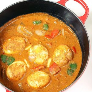 Kadai egg masala recipe | Egg capsicum curry recipe