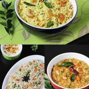 Top 10 rice recipes videos | 10 Indian rice recipes under 30 mins | Veg rice recipes