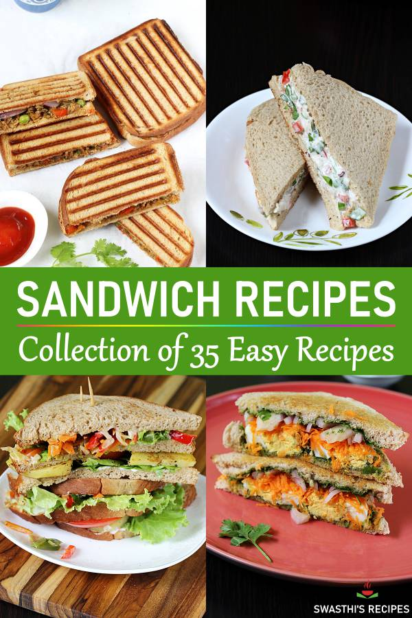 collection of sandwich recipes pin 2 swasthis recipes