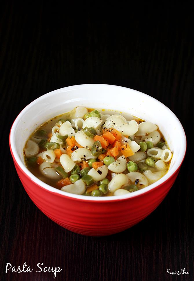 soupy pasta recipe
