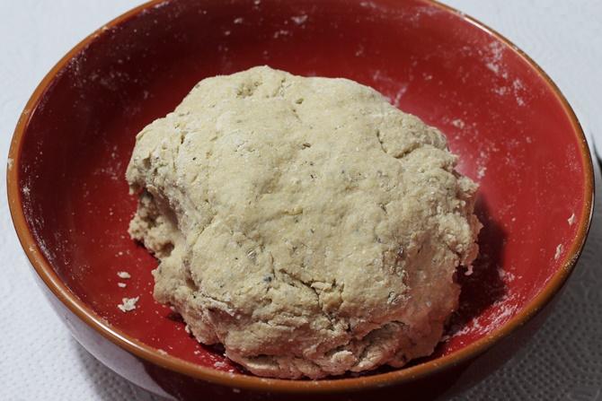 dough making for namak pare recipe