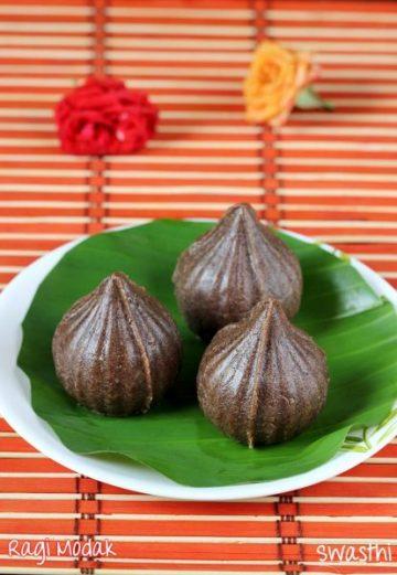 Ragi modak recipe | Ragi kozhukattai or modakam