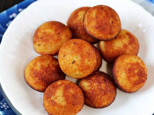 Sweet paniyaram recipe | How to make sweet paniyaram