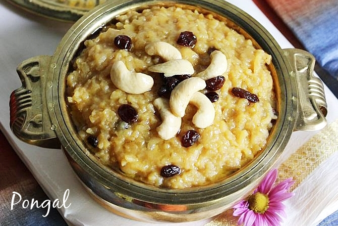 sweet pongal sweet recipes