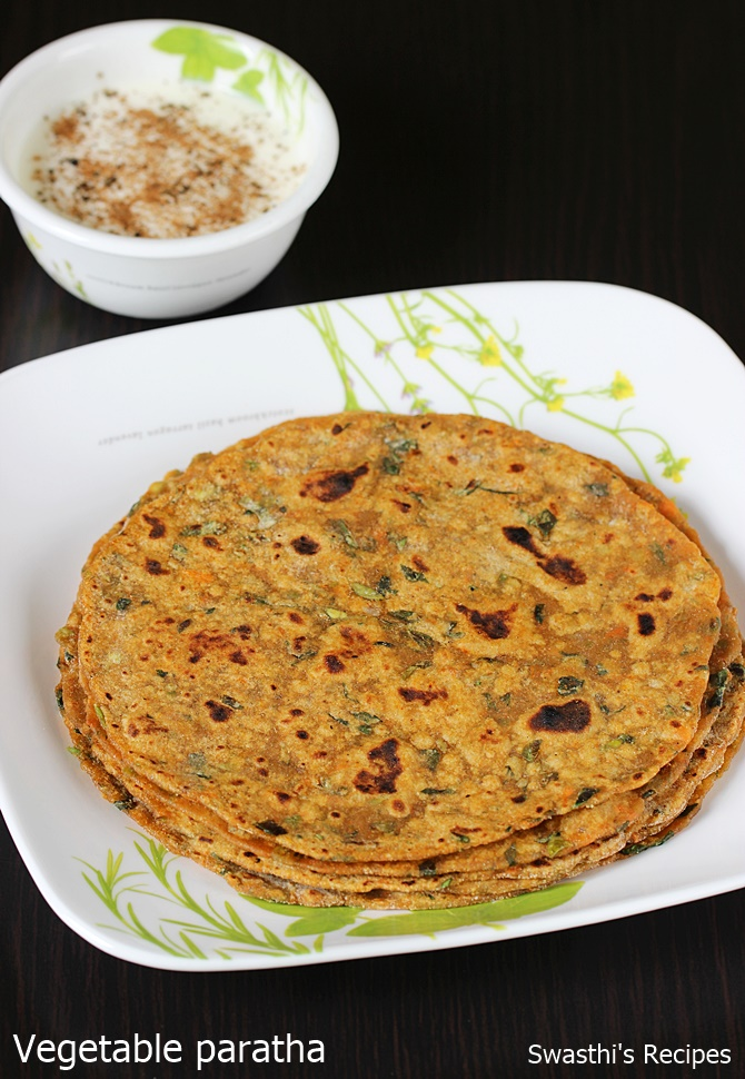 vegetable paratha recipe