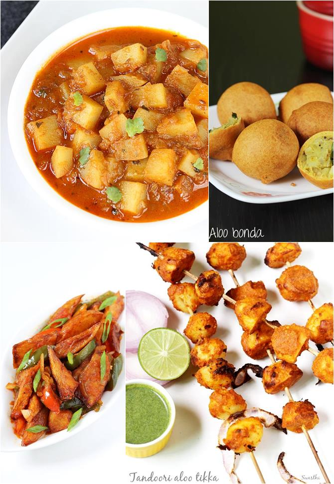 Indian potato recipes