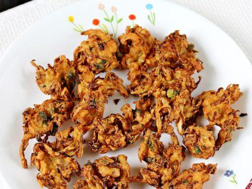 Cabbage pakoda recipe | Cabbage pakora in South Indian style