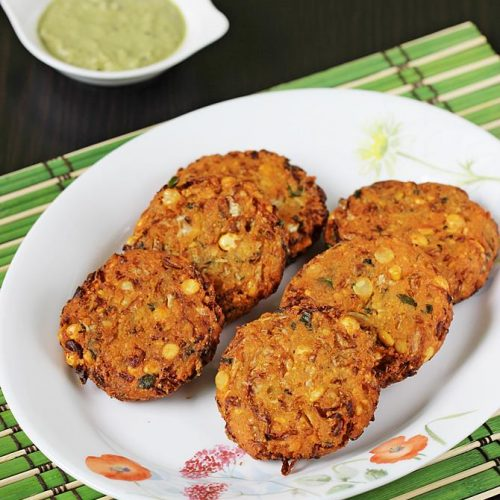 Cabbage vada | How to make cabbage vada | cabbage dal vada