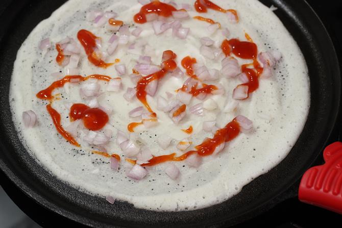 cheese dosa recipe 04