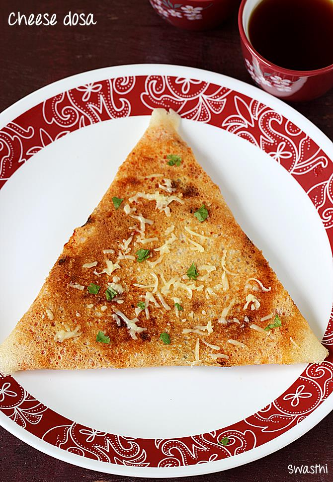 cheese dosa recipe